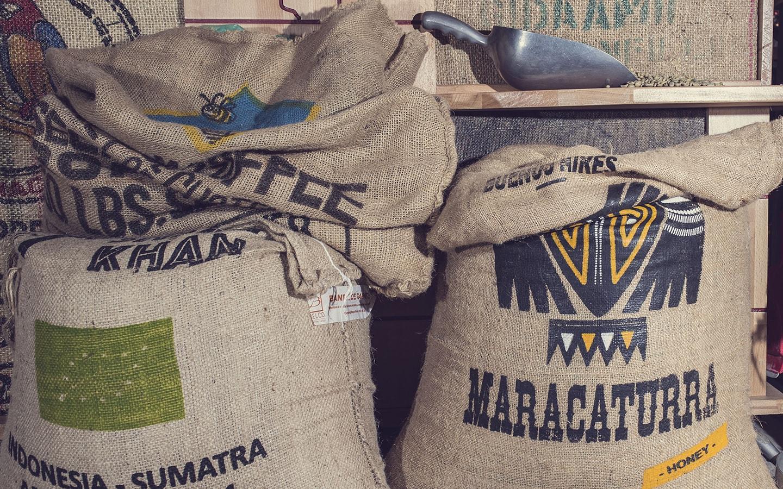 Anbassa artisan torrefacteur - sac cafe vert