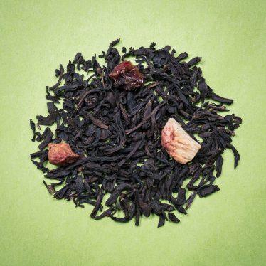 Thé Noir aromatisé quatre fruits rouges