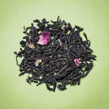Thé Noir aromatisé trois fleurs