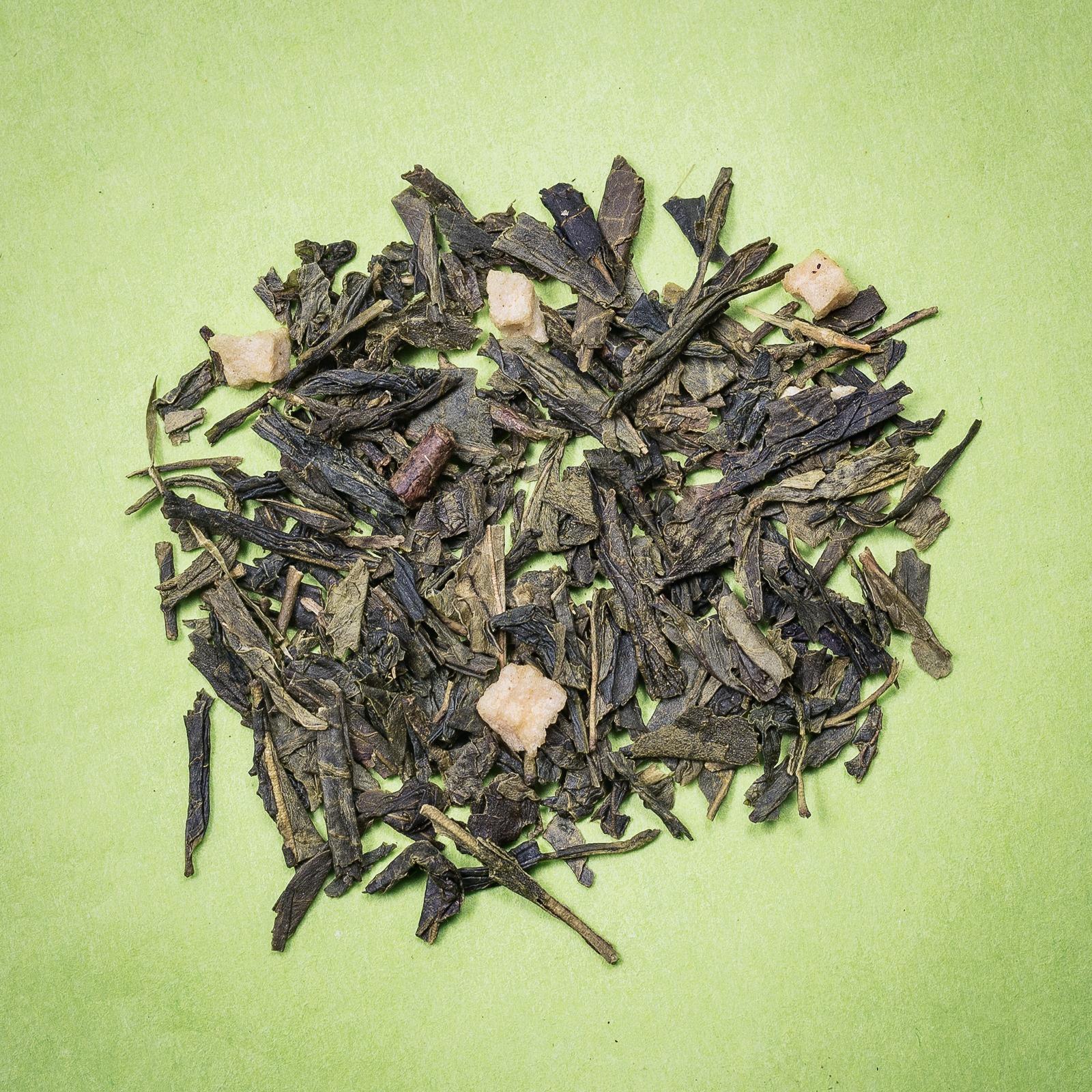 Thé Vert aromatisé christmas tea