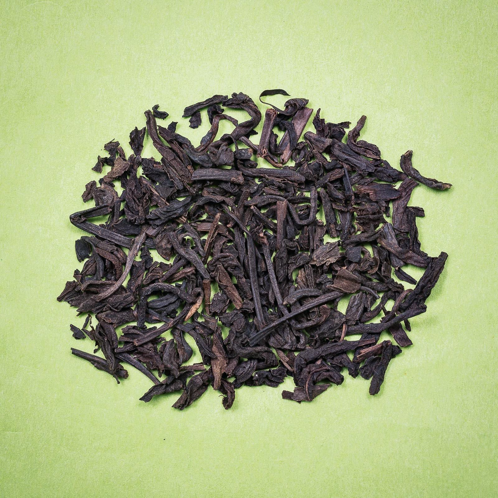 Thé Noir nature Chine puerh cinq ans