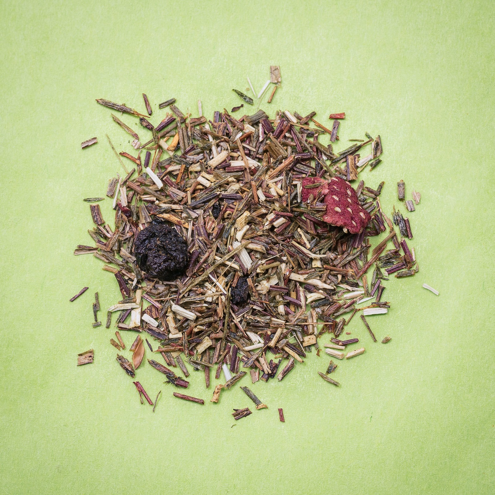Infusions rooibos vert fruits rouges