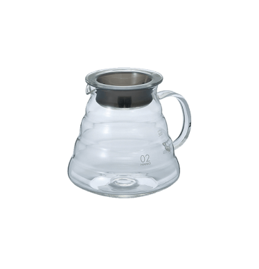 Carafe support en verre pour dripper V60 600 ml