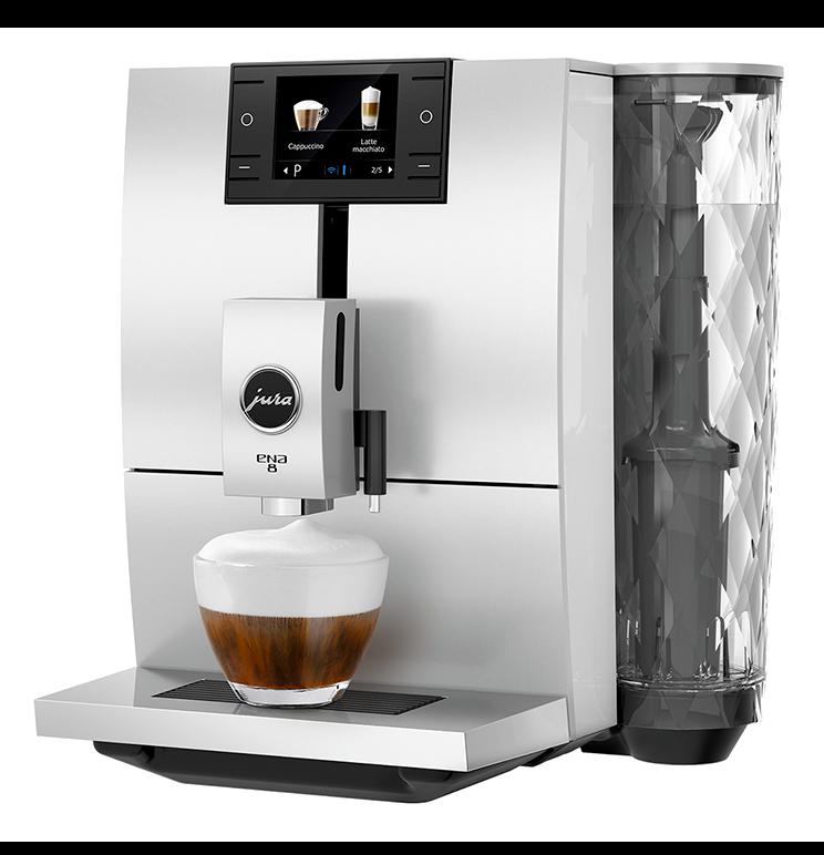 Anbassa Artisan Torrefacteur Machine A Cafe Jura Ena 8 Nordic White