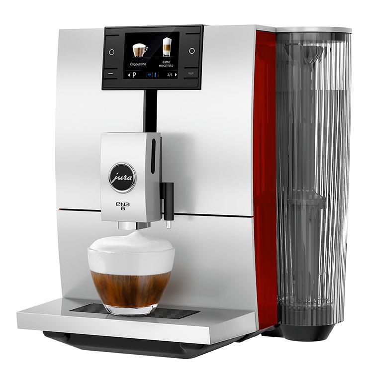 Anbassa Artisan Torrefacteur Machine A Cafe Jura Ena 8 Sunset Red 1