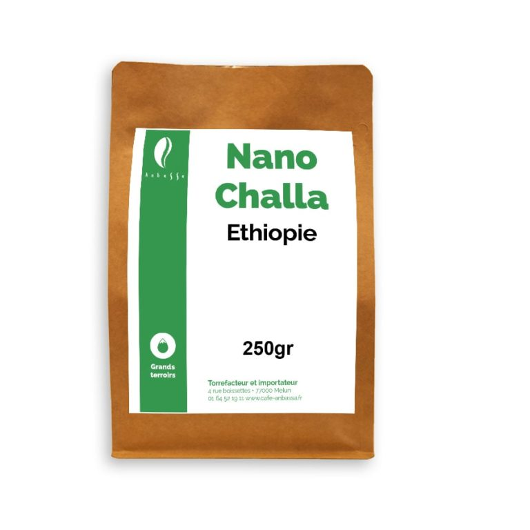 Anbassa Artisan Torrefacteur Grands Terroirs Nano Challa Ehtiopie Bio Min