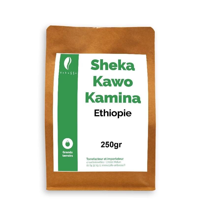 Anbassa Artisan Torrefacteur Grands Terroirs Sheka Kawo Kamina Ehtiopie Bio 1